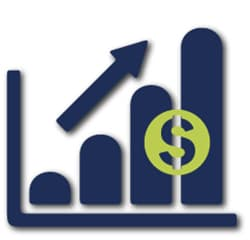 Increased Revenue Graph